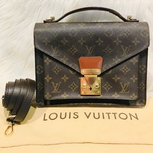 Authentic Louis Vuitton Monceau #3.1a